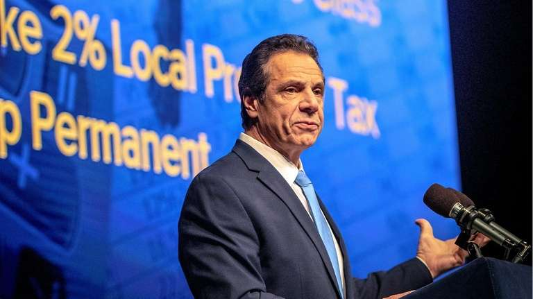 Gov. Andrew M. Cuomo delivers the 2019 State