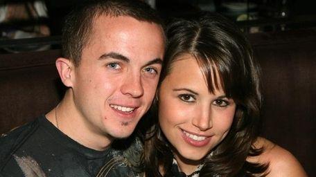 Frankie Muniz and Elycia Turnbow