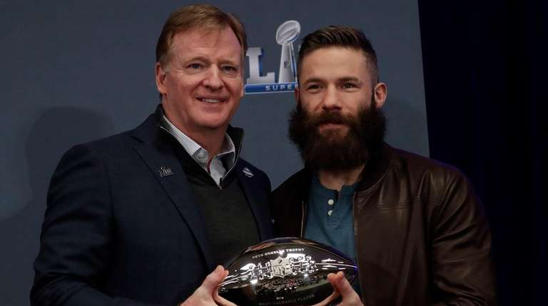 Super Bowl LIII MVP and Patriots wide receiver