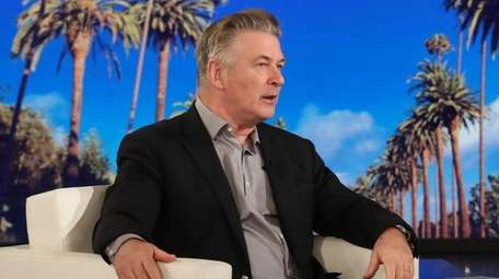 "Alec Baldwin chats with the host on ""The"