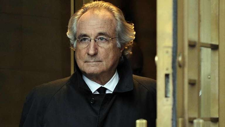 Bernard Madoff leaves federal court in Manhattan after