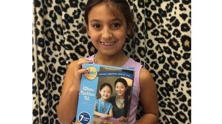 Kidsday reporter Katherine Dituro of Bretton Woods Elementary