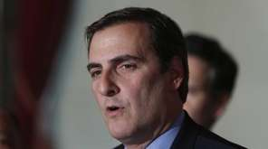State Sen. Michael Gianaris (D-Astoria) is seen in