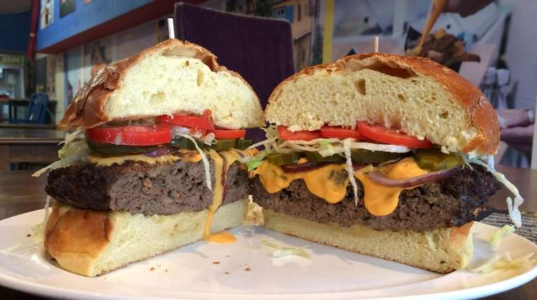A 5-lb. hamburger is a new addition to