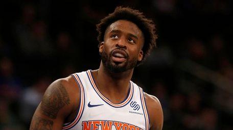 Wesley Matthews #23 of the New York Knicks