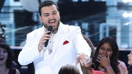 "Sal Valentinetti performs on ""America's Got Talent: The"