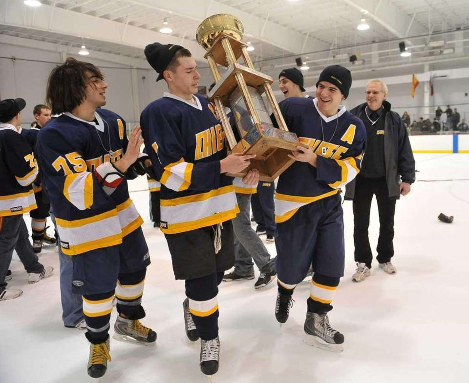 Massapequa's Phil Armato, Justin Von Wieding and Dom