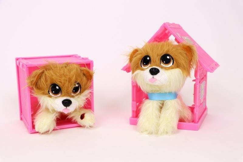 Kids can adopt these mini plush collectible pets.