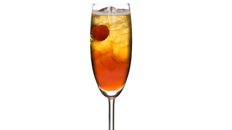 The Kir Royale cocktail combines Champagne with crème
