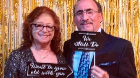 Louise and James Loscalzo of Plainview celebrated their