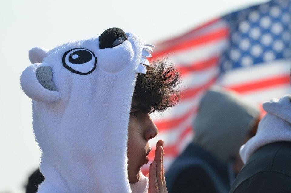 Long Beach Polar Bears Super Bowl Splash 2019