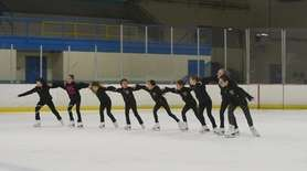 Synchronized skating is on the rise on Long