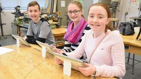 In Holbrook, Seneca Middle School students recently explored