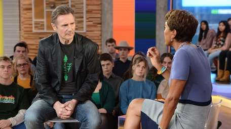 "Liam Neeson talks to Robin Roberts on ""Good"