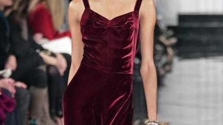 Fashion from the Ralph Lauren fall 2011 collection