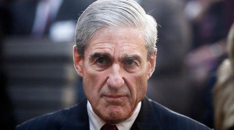 Robert Mueller is seen in 2013.