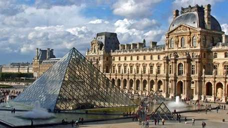 The Louvre museum in Paris, one of the