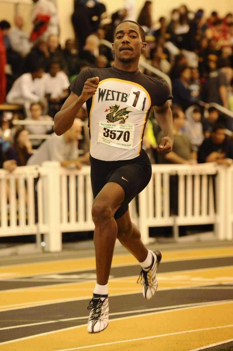 Westbury's Owen Skeete won the 3200 meter race
