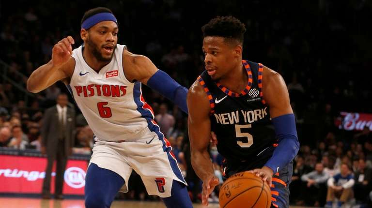 ce618b5ad New Knicks trio can t stop losses from mounting