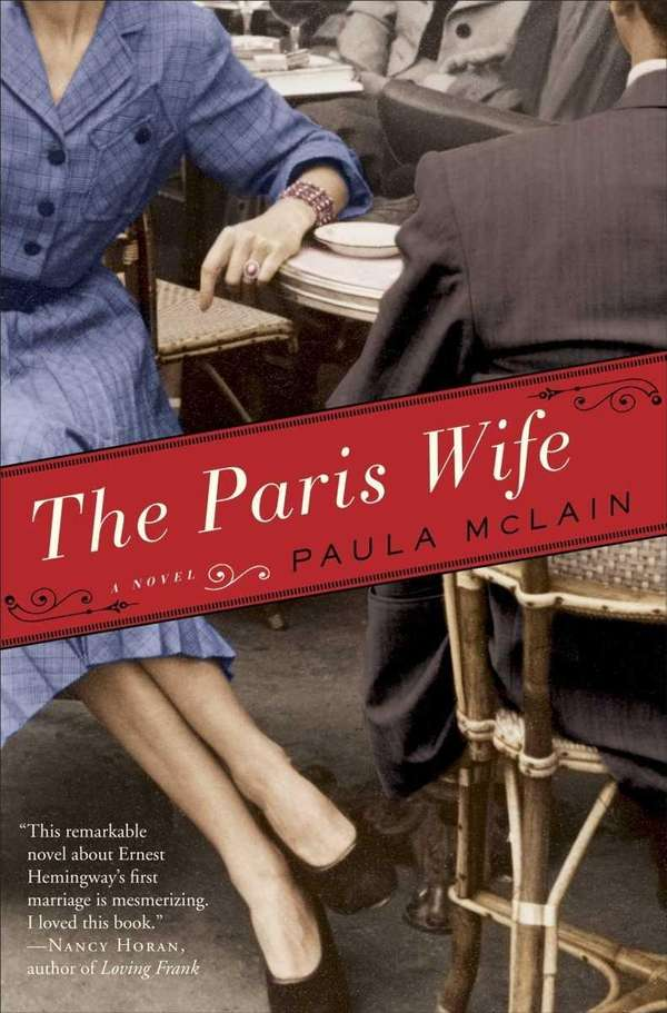 "The cover of ""The Paris Wife"" by Paula"