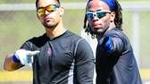 Mets outfielder Angel Pagan and shortstop Jose Reyes
