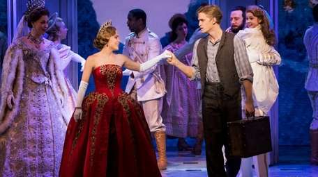 "Christy Altomare and Cody Simpson star in ""Anastasia"""