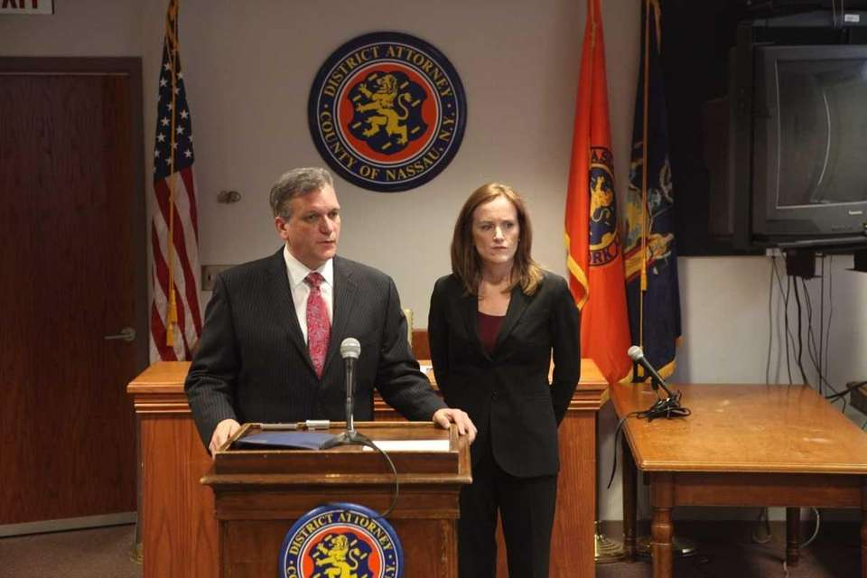 Nassau District Attorney Kathleen Rice with Nassau County
