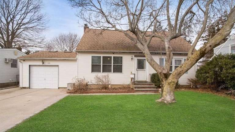 This Huntington Station expanded Cape, for $399,000, includes