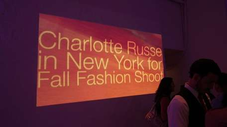 General view of atmosphere during the Charlotte Russe