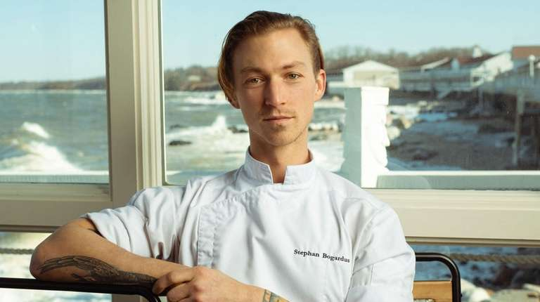 Stephan Bogardus is the new executive chef at