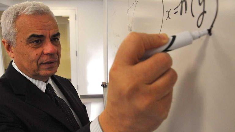 Carlos Marques, a math professor at Farmingdale State