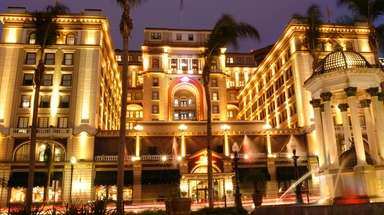 The U.S. Grant Hotel in San Diego was