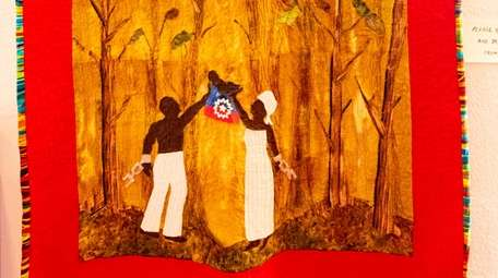 """Kim Taylor's quilt, """"Juneteenth,"""" is part of the"""