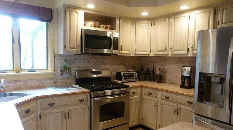 The Medford home's kitchen.