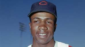 Hall of Famer Frank Robinson, the first black