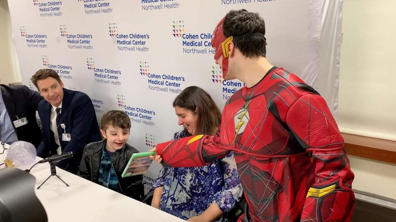 On Thursday, Doctor's at Cohen Children's Medical Center introduced Simao Meco,