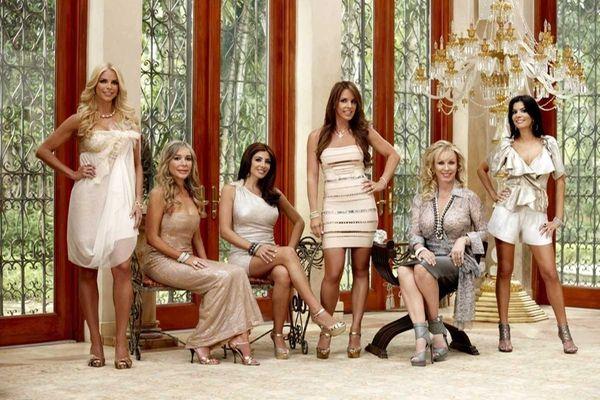 Alexia Echevarria, left, Marysol Patton, Larsa Pippen, Cristy