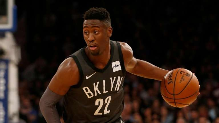 Caris LeVert hasn't played for the Nets since