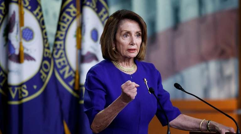 Speaker of the House Nancy Pelosi (R-Calif.) responds