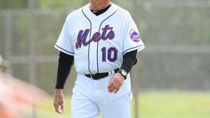 Mets manager Terry Collins during Monday's spring training