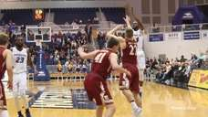 Hofstra raced to a 35-point halftime lead before