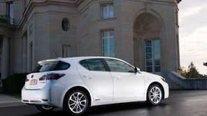 The 2011 Lexus CT 200h.