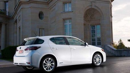 The 2011 Lexus CT 200h.