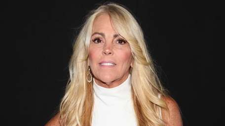 Dina Lohan at the Vivienne Hu show during