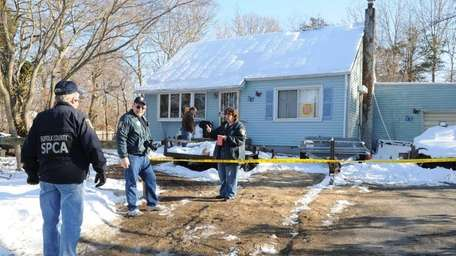 A Shirley home was condemned after investigators found