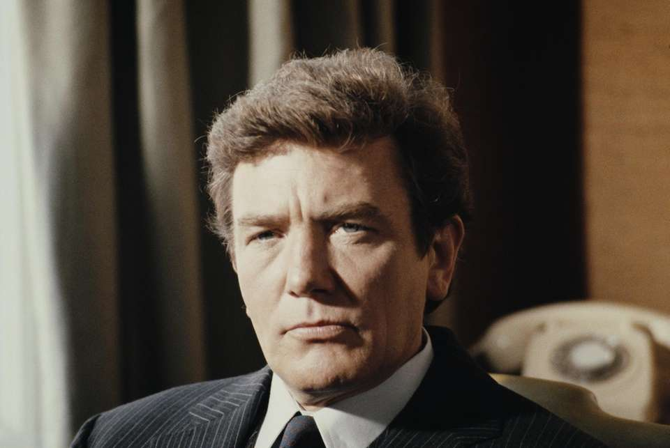 Albert Finney, the charismatic Academy Award-nominated British actor