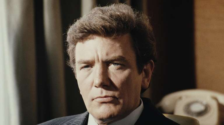 Albert Finney, the charismatic Academy Award-nominated British actor