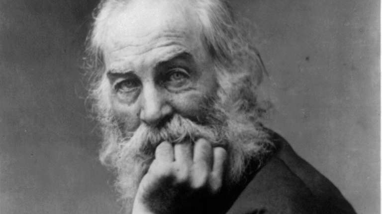 Poet Walt Whitman, who lived on Long Island,