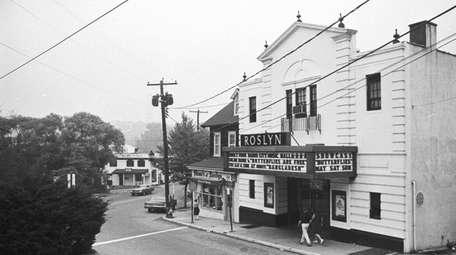 The Roslyn Theater on Old Northern Boulevard in