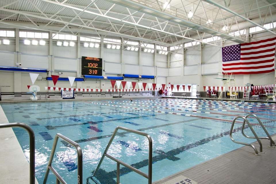 Long island indoor pools great for kids no membership required newsday for Brooklyn college swimming pool membership